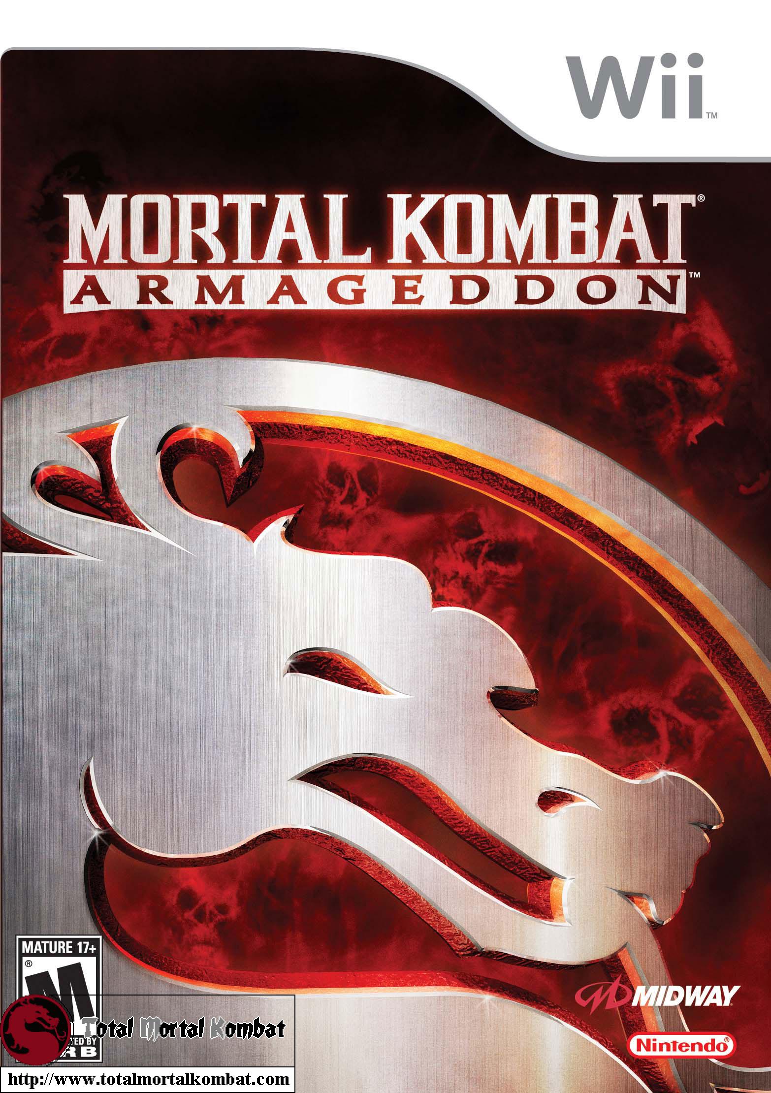 Mortal Kombat: Armageddon - Logo / Box Cover Art