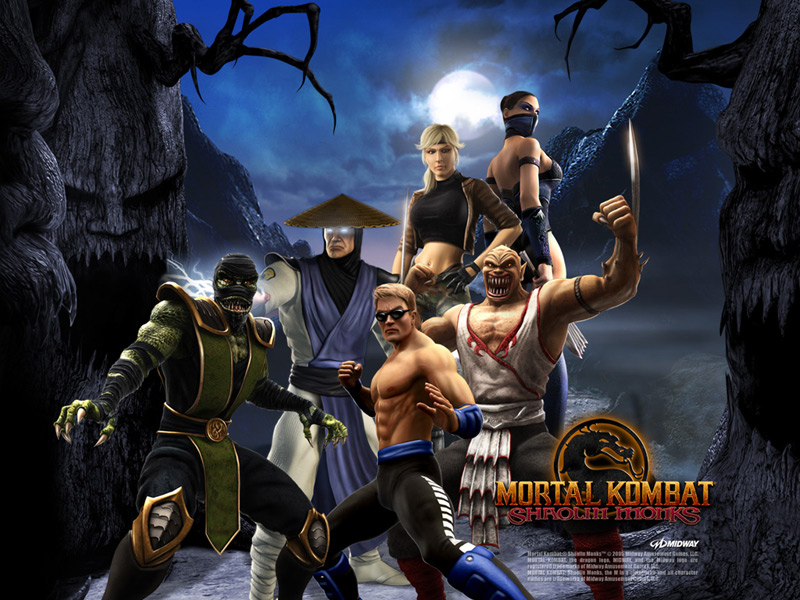 Mortal Kombat Shaolin Monks [PAL] [Play 2]